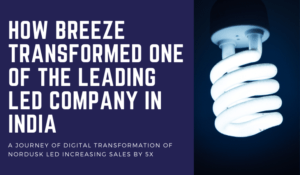 How Breeze Transformed One of The Leading LED Company in India